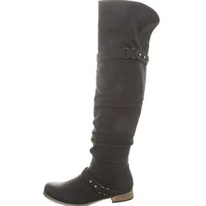 Carlos Santana Wheeling Black Boot-NEW